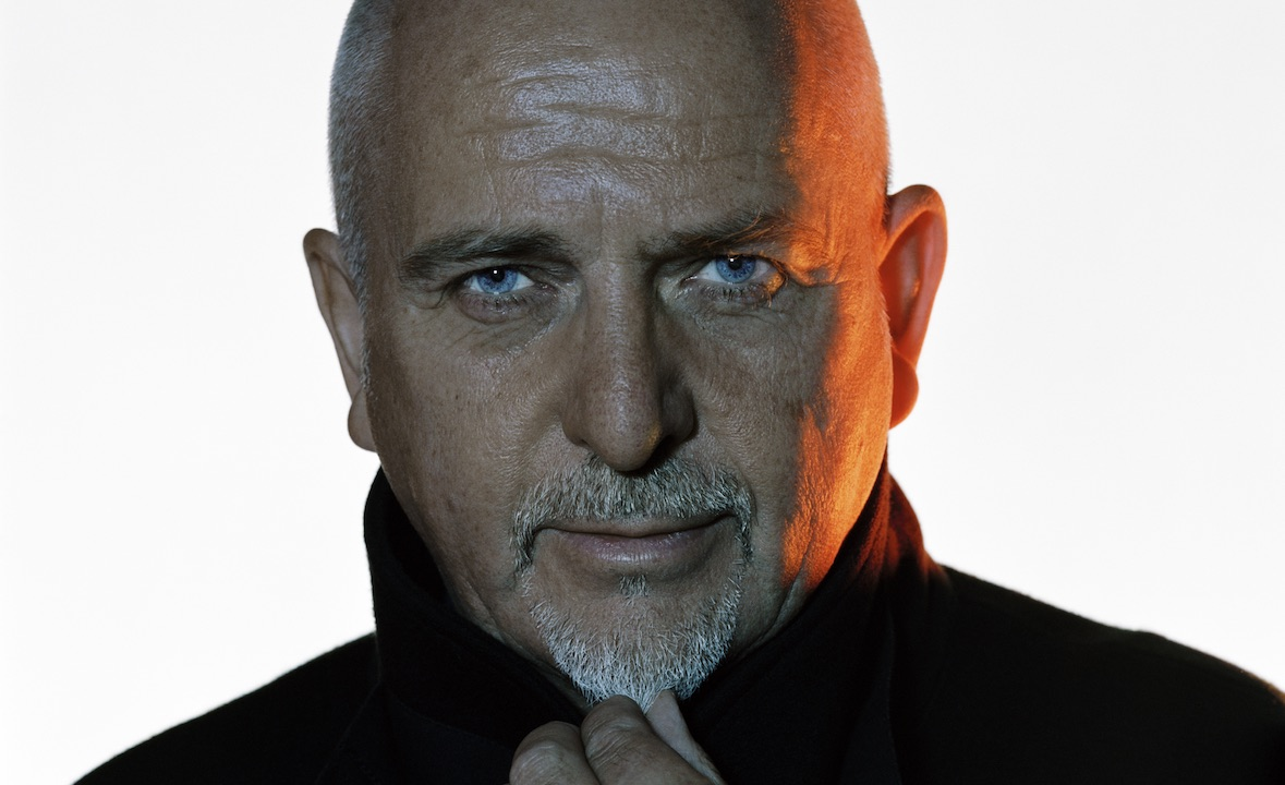 An image of musician Peter Gabriel.