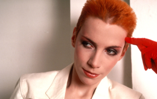 An image of pop singer Annie Lennox.