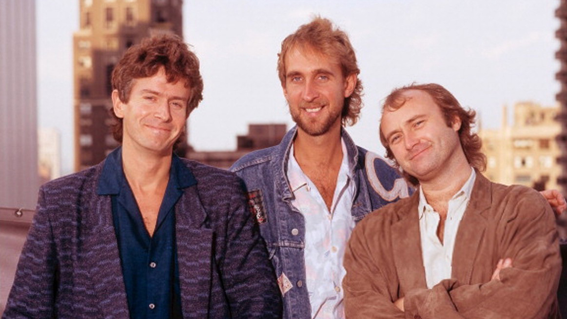 An image of the band Genesis in 1979.