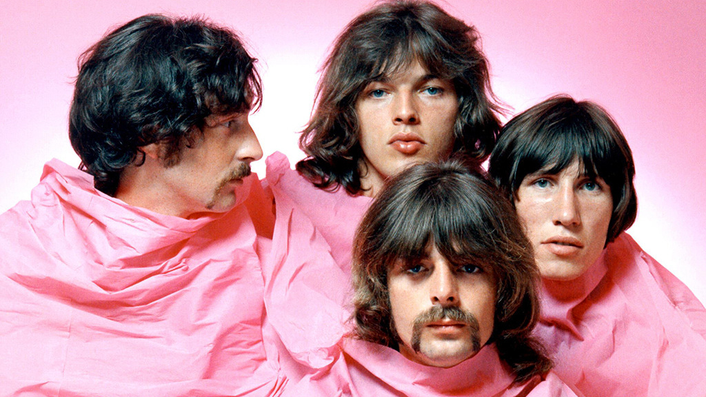 The progressive rock band Pink Floyd.