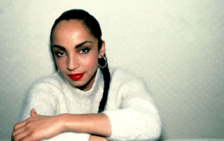 The singer Sade.
