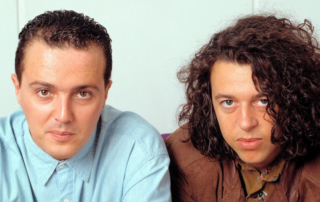 The synth pop duo Tears For Fears.